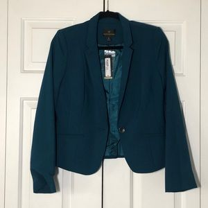 Teal Business Blazer